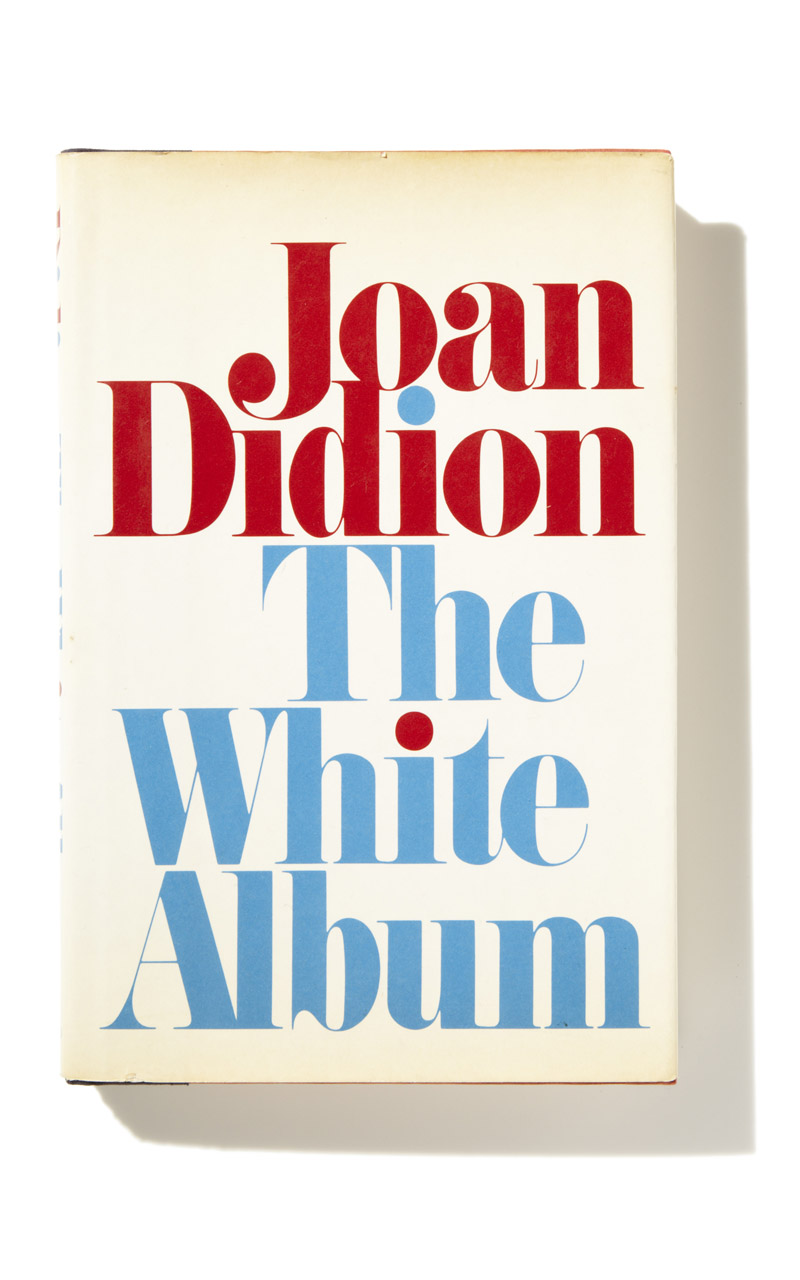 Joan Didion The White Album Trend Colour White SS13