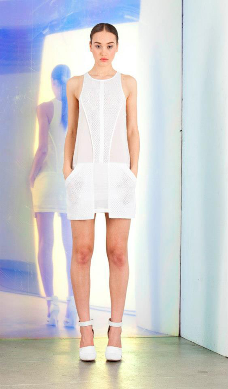 stylestalker replicant white dress trend colour ss13