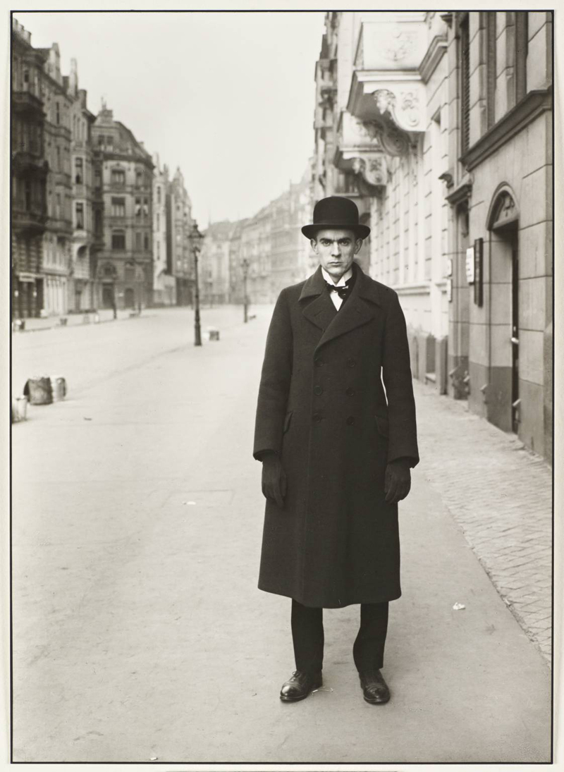 Painter [Anton Raderscheidt] 1926 by August Sander 1876-1964