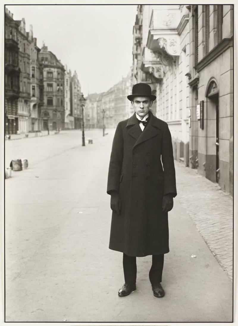 Painter [Anton Raderscheidt] 1926 by August Sander 1876-1964
