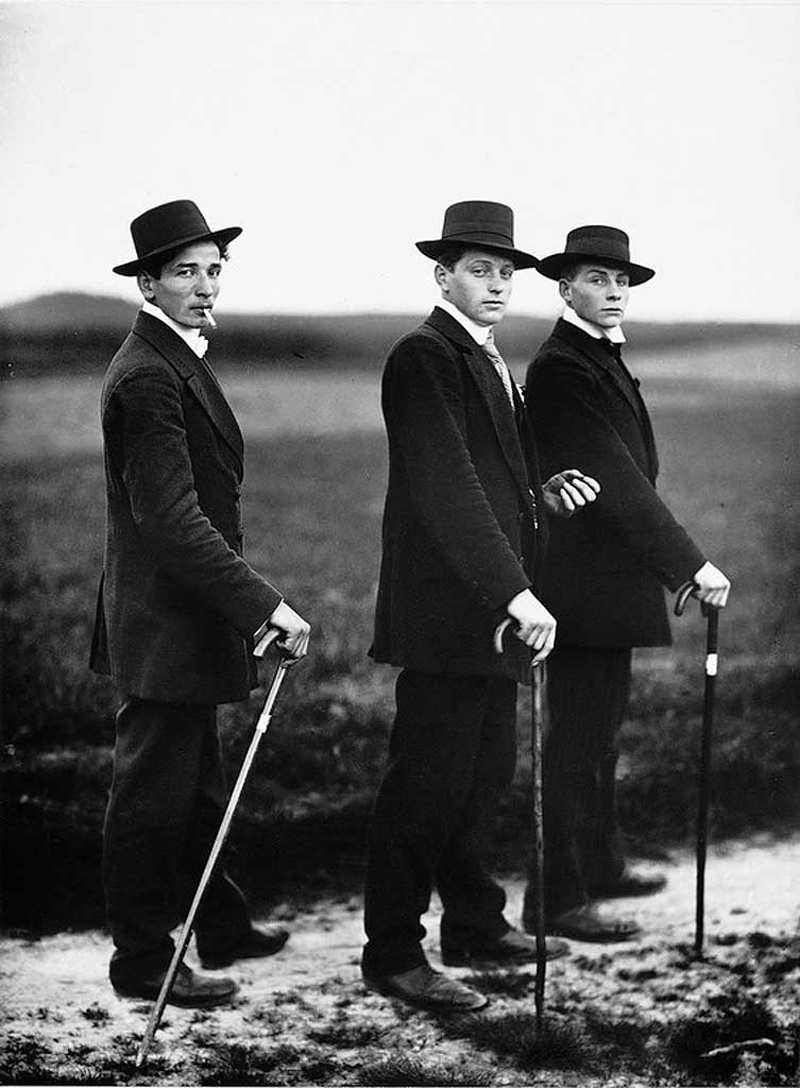 August-Sander-Young-Farmers-Westerwald-1914