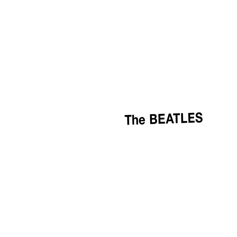Beatles White Album Trend Colour White SS13