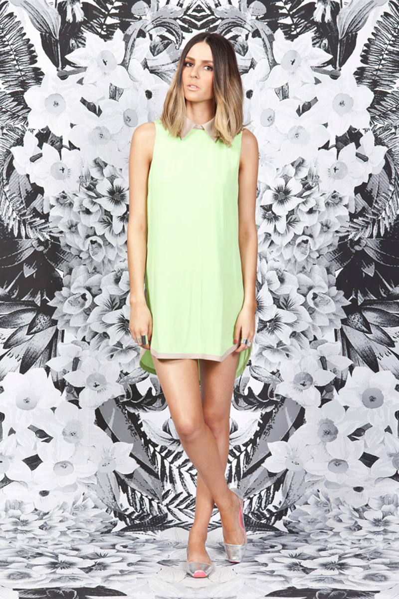 finders keepers mood for love dress lime biscuit_