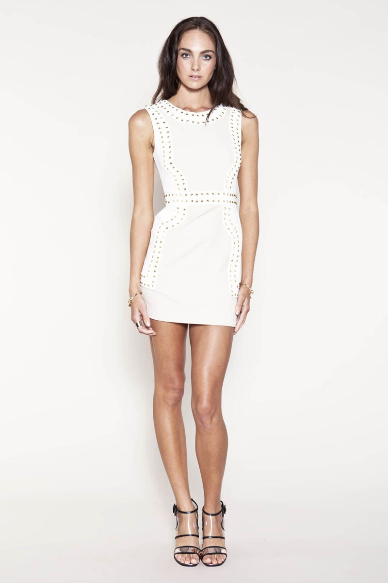 Finders Keepers One More Try Dress White Lake House trend colour white ss13
