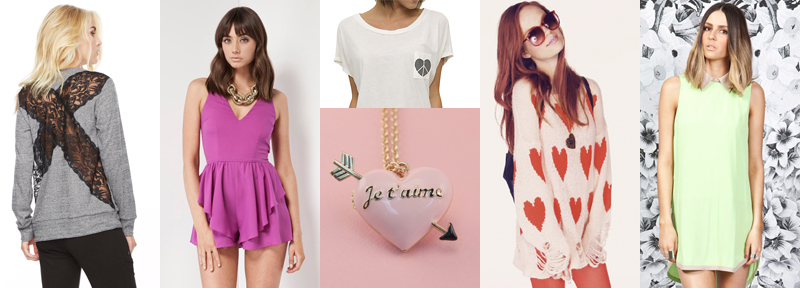 valentine's self service wildfox finders keepers lna junk food keepsake