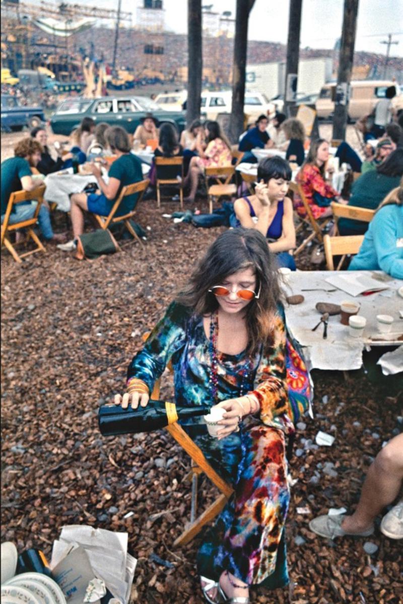 janis joplin woodstock tie dye LNA Spring 2013