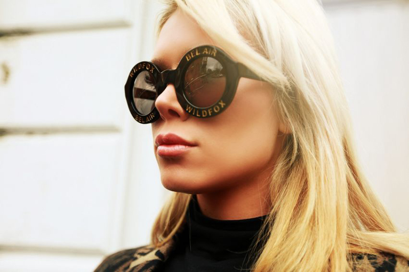 ulrikke lund wildfox sunglasses bel air