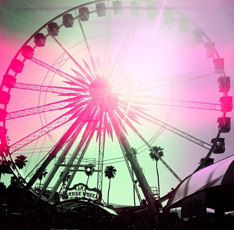 coachella ferris wheel stiletomomma instagram