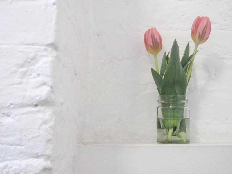 Dust PR Press Day AW13 Wildfox Genetic Denim tulips staircase