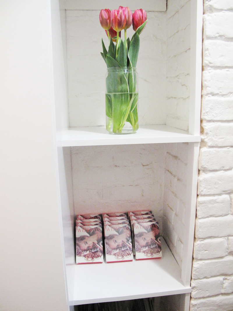 Dust PR Press Day AW13 Wildfox playing cards staircase tulips