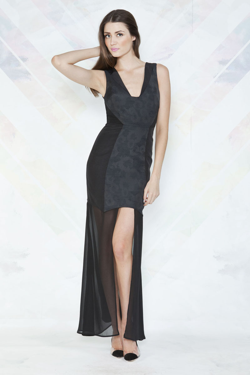 Finders Keepers Perfect Stranger Maxi Dress
