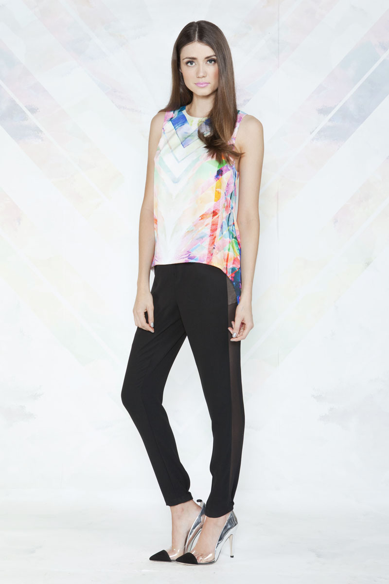 Finders Keepers Same Direction Top and Back On Line Pants