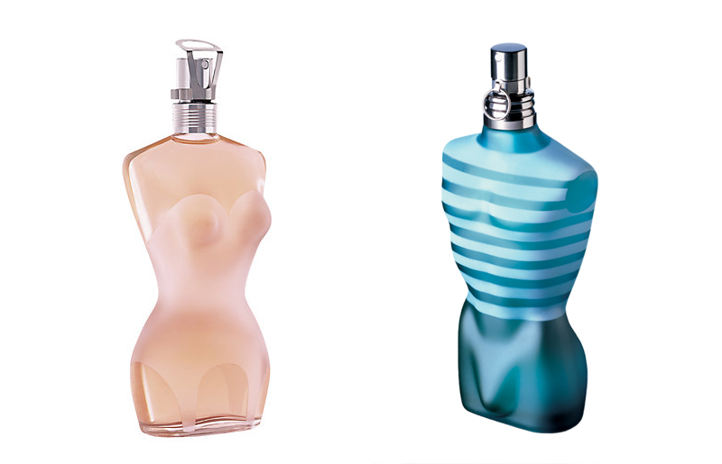 jean paul gaultier eau de toilette blue and pink
