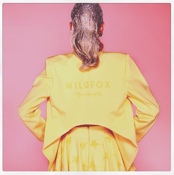 limited edition wildfox jacket back view clueless competition harrods