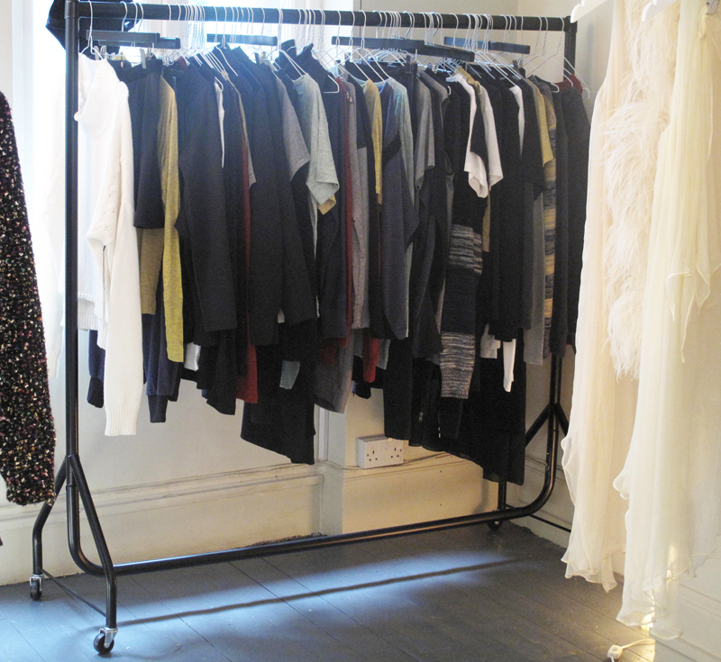 Nicole Levy PR press day LNA rail AW13