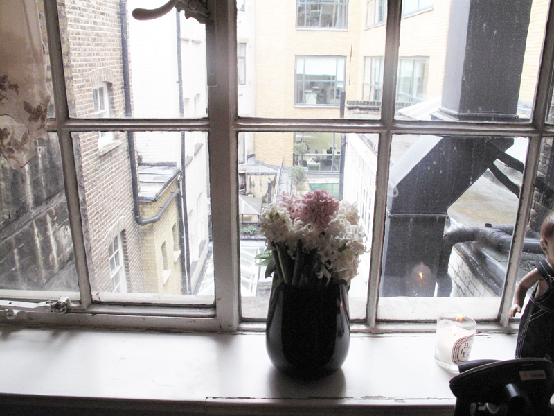 Nicole Levy PR press day LNA view from window London Soho