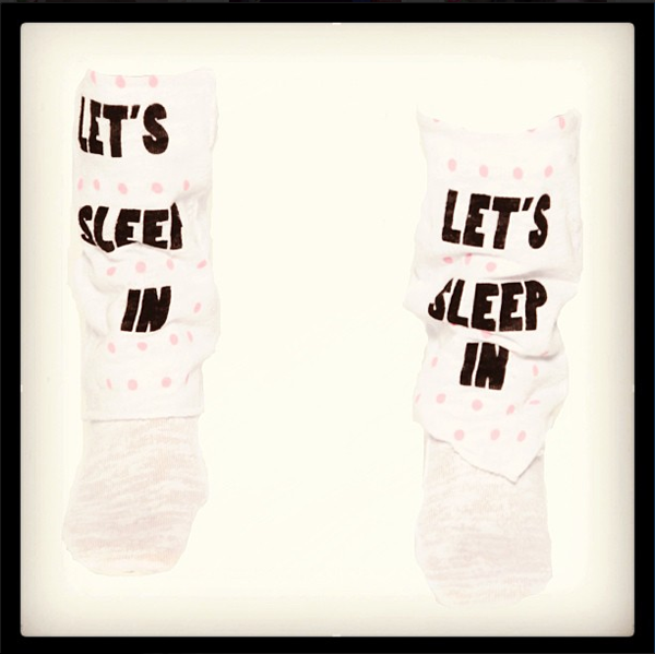 wildfox lets sleep in socks clueless competition harrods