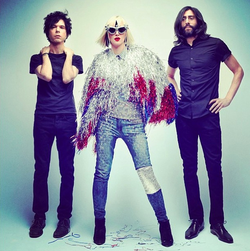 Karen O of Yeah Yeah Yeahs wearing Genetic