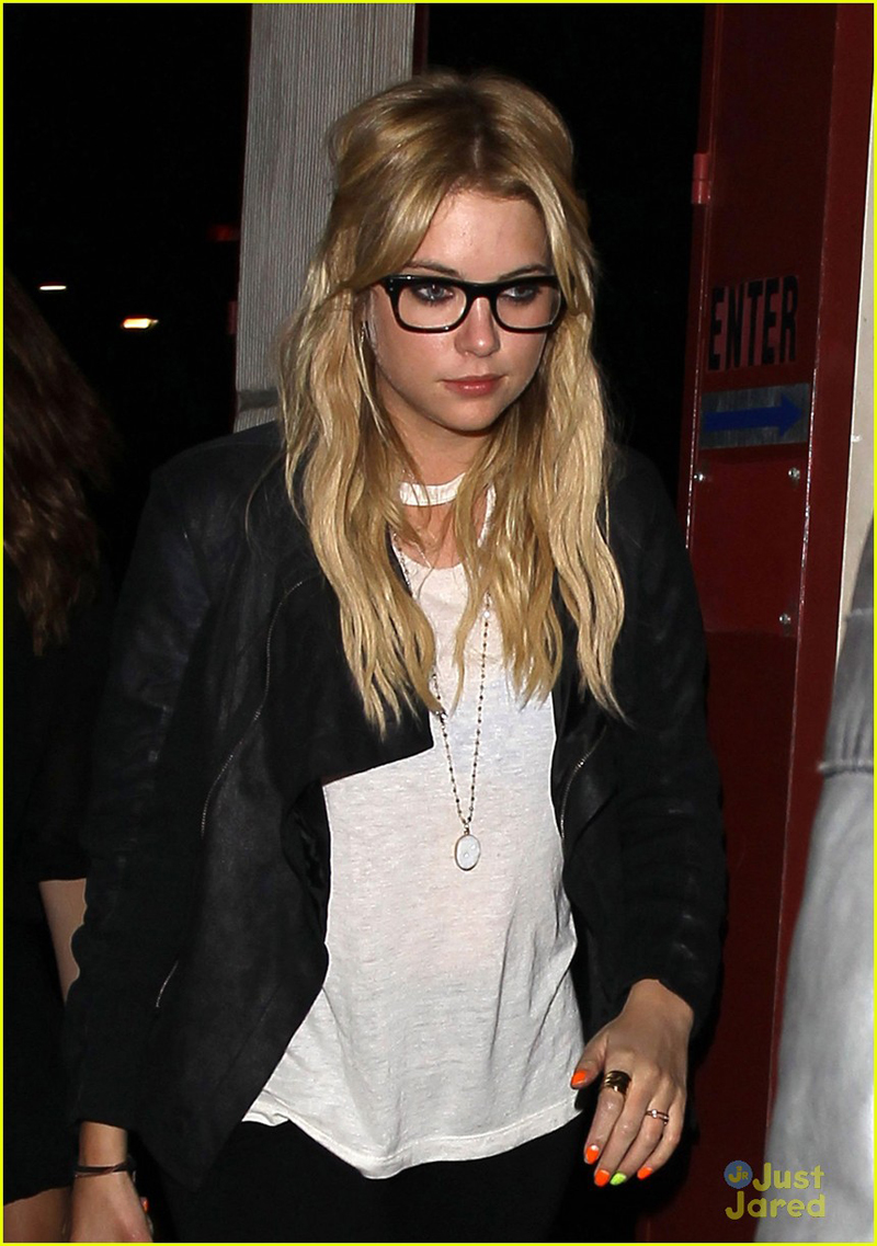Ashley Benson in LNA Pre Fall 2013 Mosshart Tee