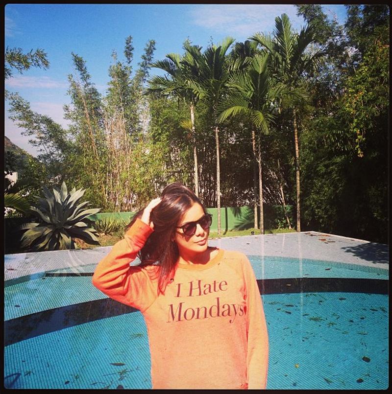 Bianka Fernandes I Hate Mondays Wildfox jumper