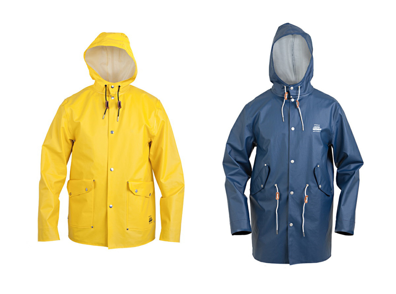 Elvine_x_Grundens_2012 raincoat yellow blue