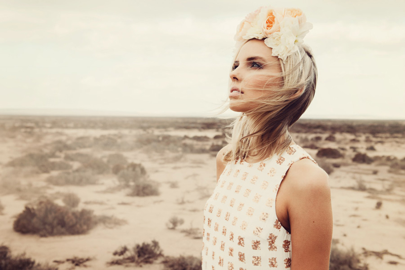 Finders Keepers Field of Dreams Moment In Time Dress in rose gold sequin 2