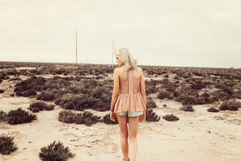 Finders Keepers Field of Dreams Way To Go Top in nude & Start The Fire Shorts in metallic grey 2