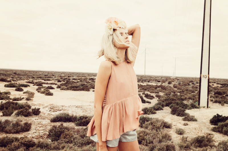 Finders Keepers Field of Dreams Way To Go Top in nude & Start The Fire Shorts in metallic grey