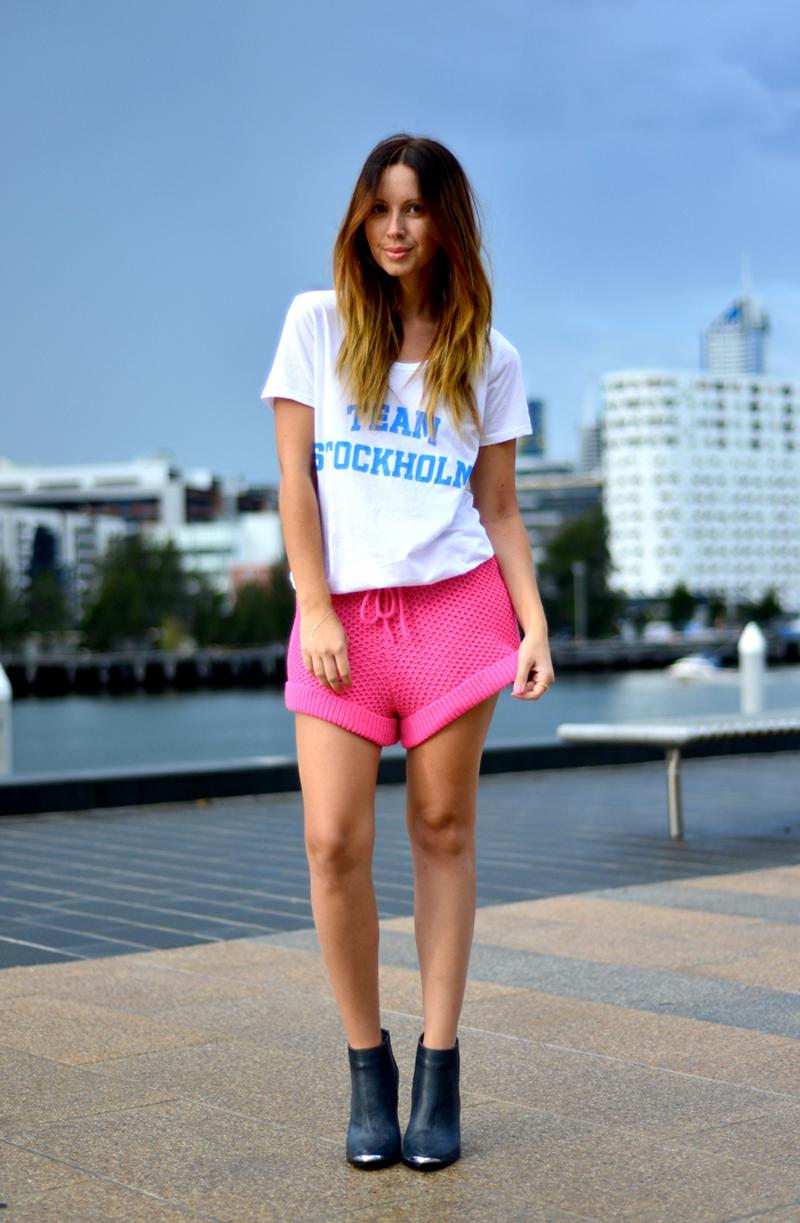 Friend in Fashion StyleStalker Moon Base Shorts 2