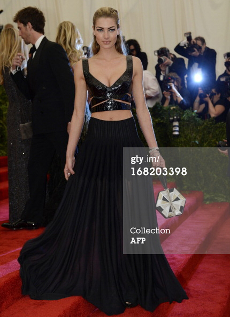 Jessica Hart at the Met Ball 2013 New York MoMA
