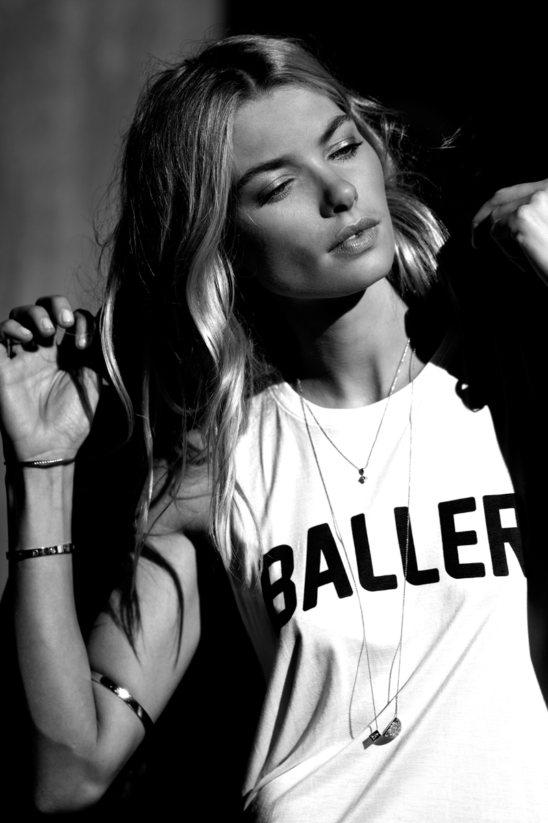 Jessica Hart Stylestalker Baller Tank top 2