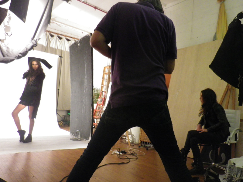 behind the scenes juli molnar stylist storm shoot Keepsake