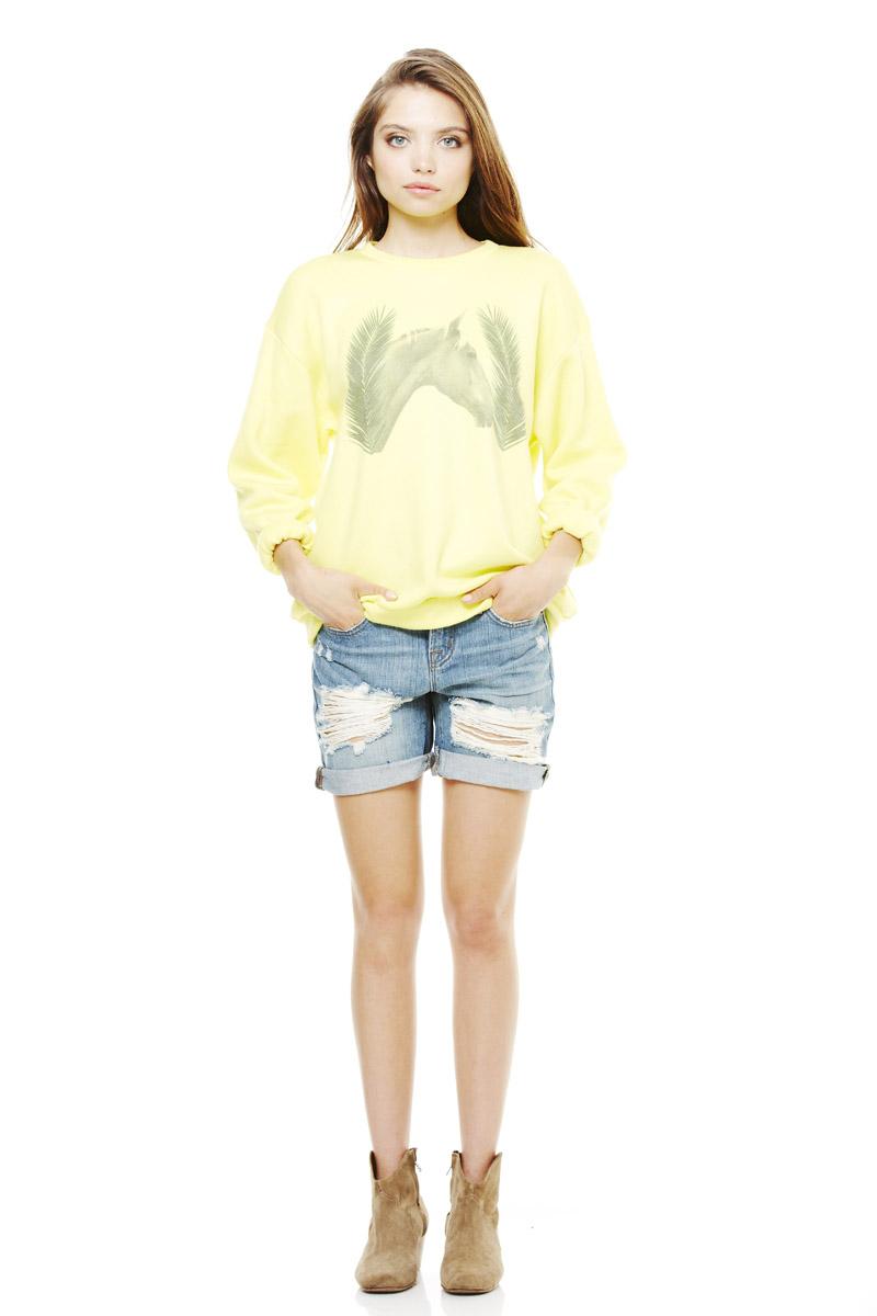 LNA Pre Fall 2013 Horse Sweatshirt
