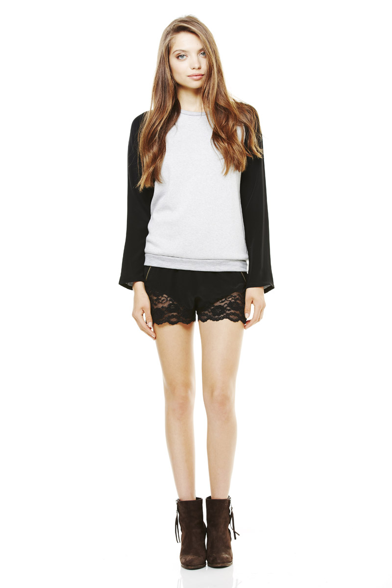 LNA Pre Fall 2013 Hutton Sweatshirt & Dreamer Short