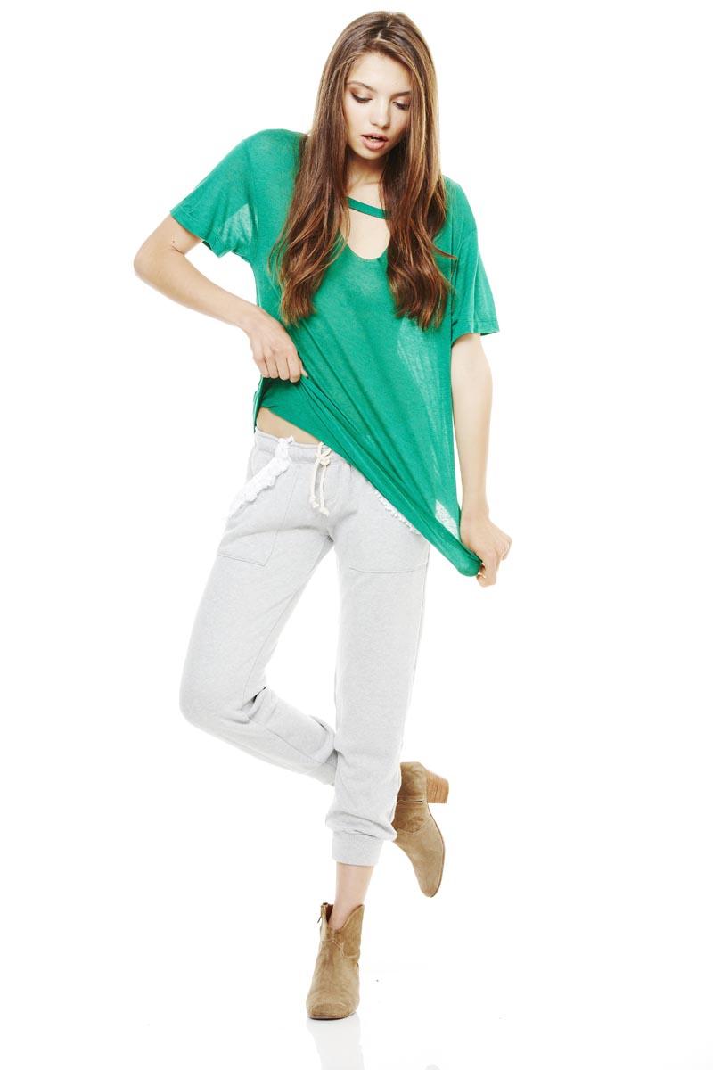 LNA Pre Fall 2013 Mosshart Tee & Coco Sweat pants