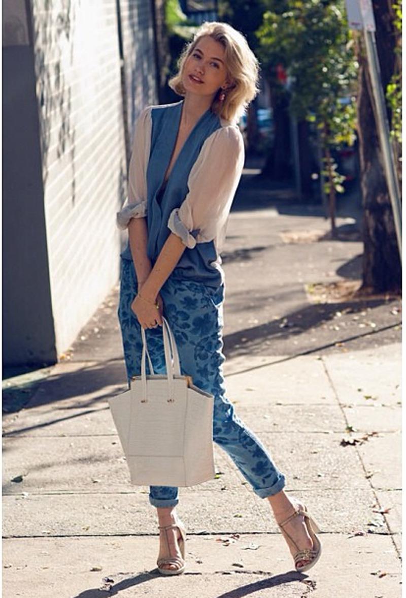 Zanita Morgan in Style Stalker Replicants Pant