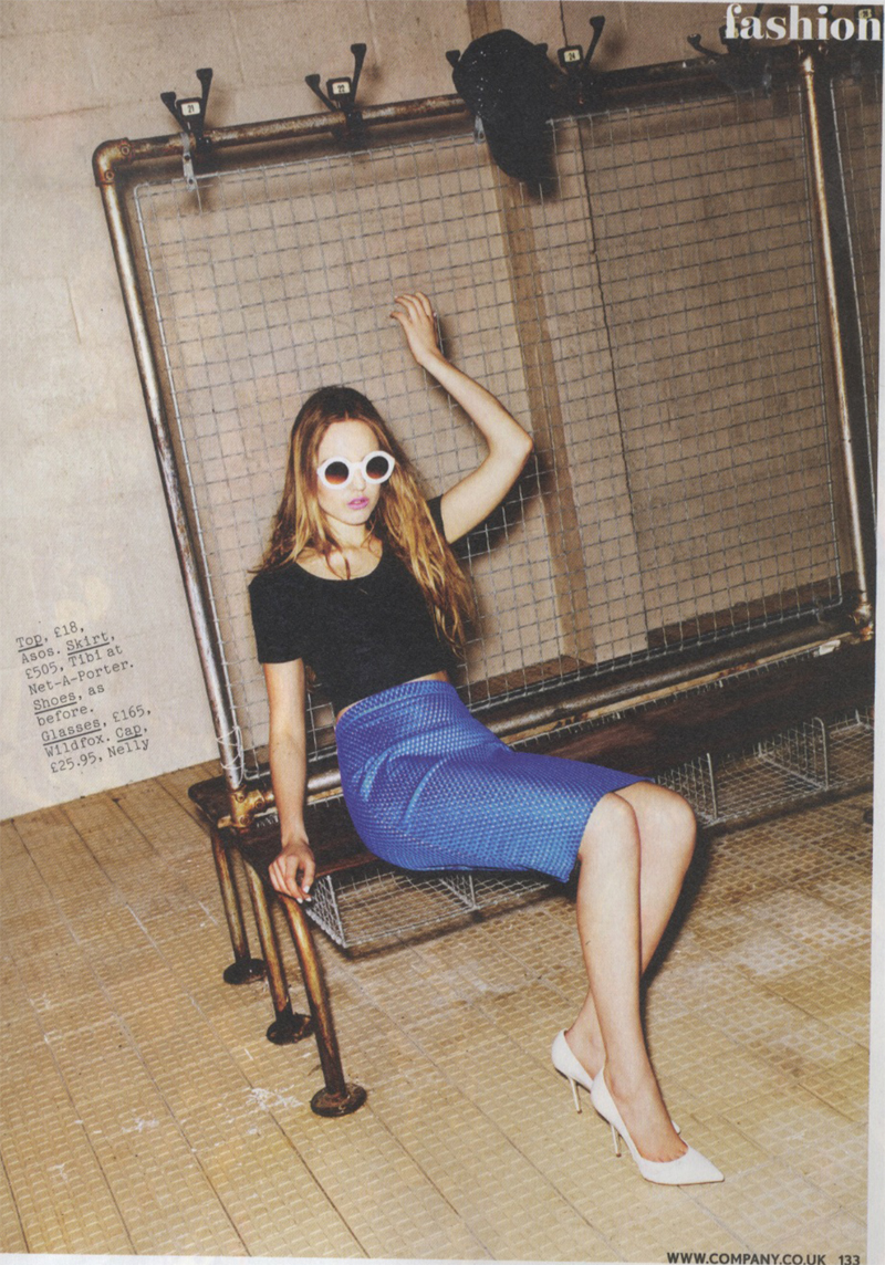 Company Magazine Wildfox Sun Twiggy Frames April 2013