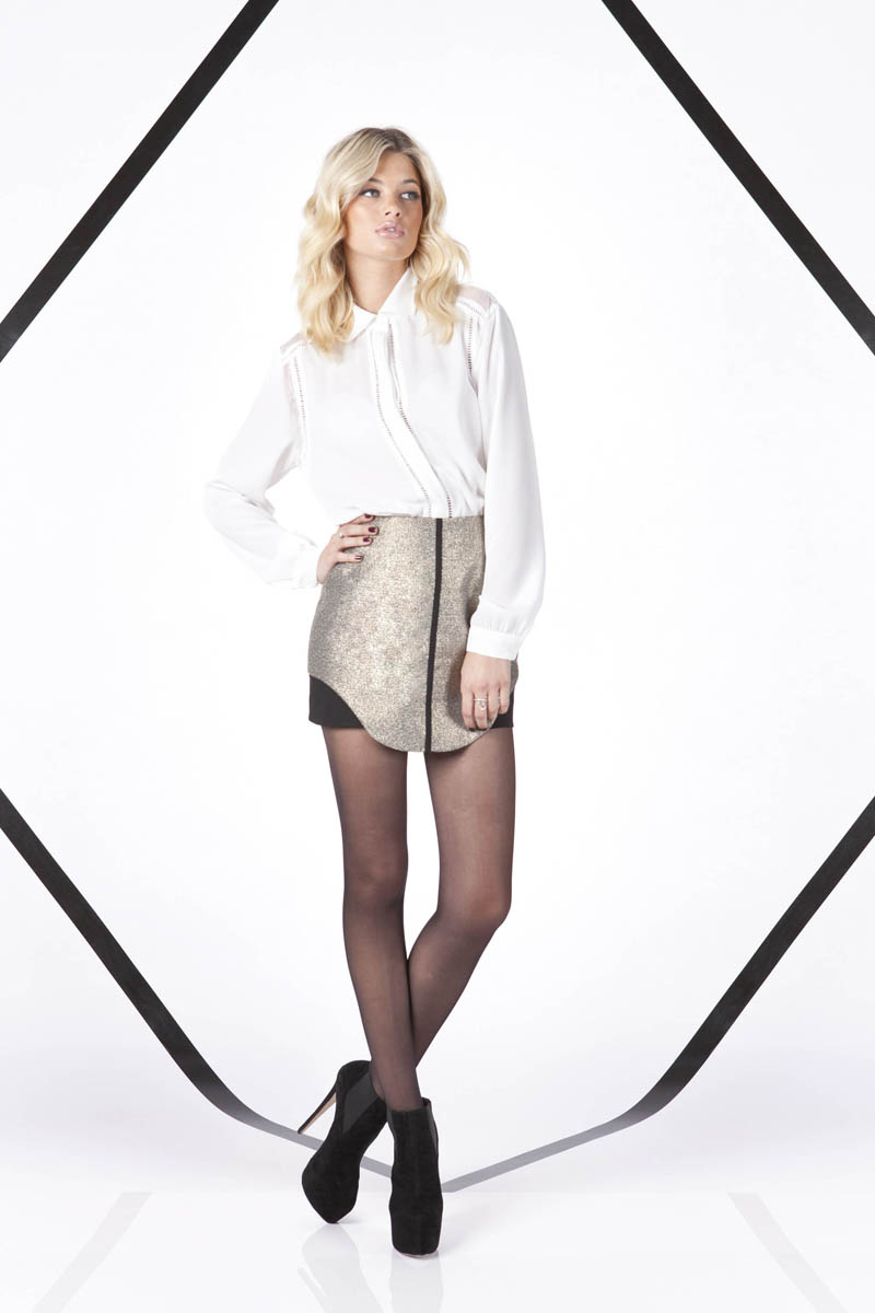 Finders Keepers A Beautiful Ordinary Last Time Long Sleeve Shirt and All The Colours Skirt