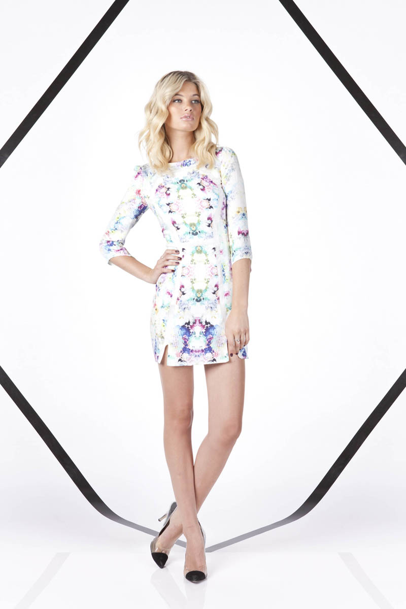 Finders Keepers A Beautiful Ordinary Mad House Long Sleeve Dress 2