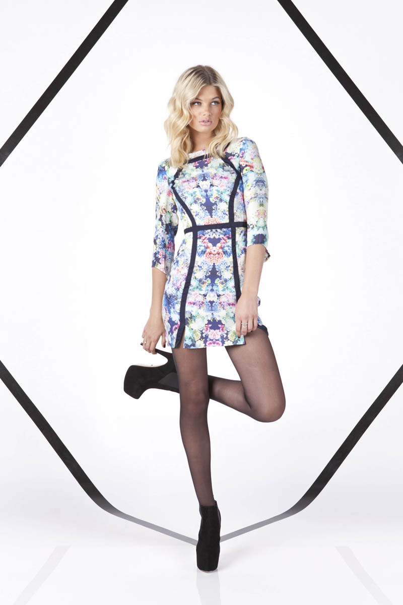 Finders Keepers A Beautiful Ordinary Mad House Long Sleeve Dress