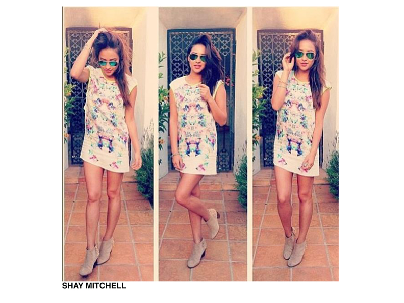 Shay Mitchell wearing Finders Keepers A Beautiful Ordinary