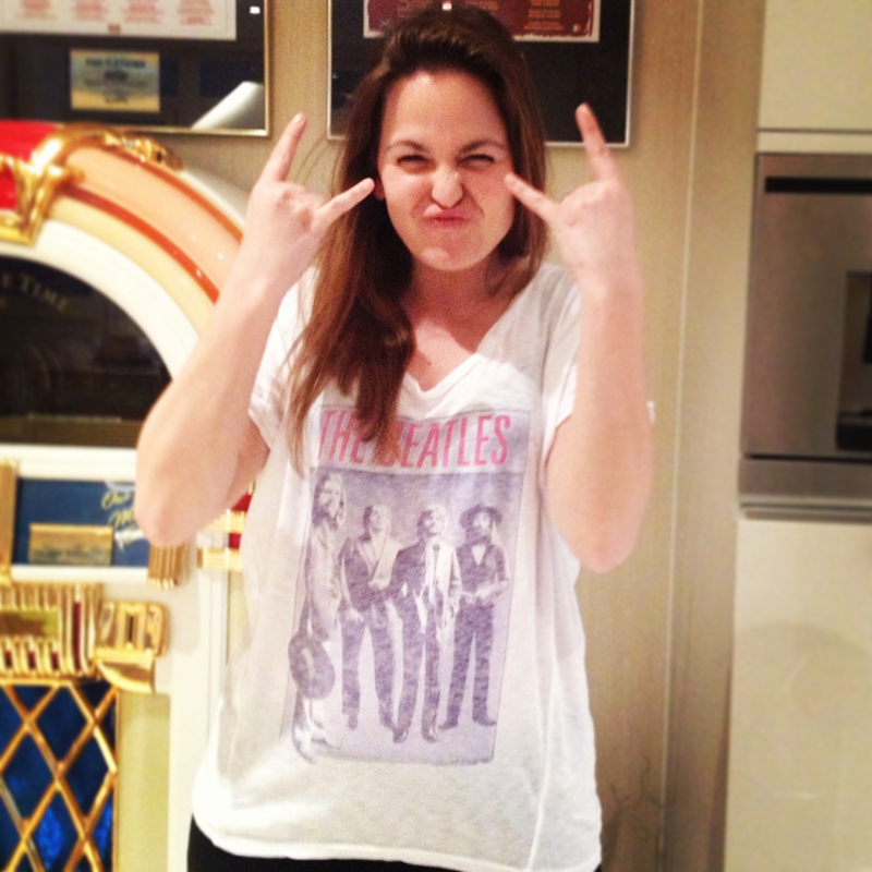 giovanna fletcher falcone junk food clothing the beatles tee