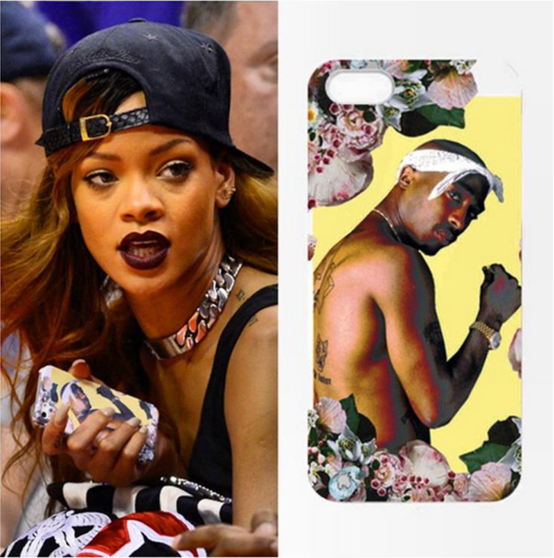 rihanna 2pac iphone case dimepiece gangsta chic
