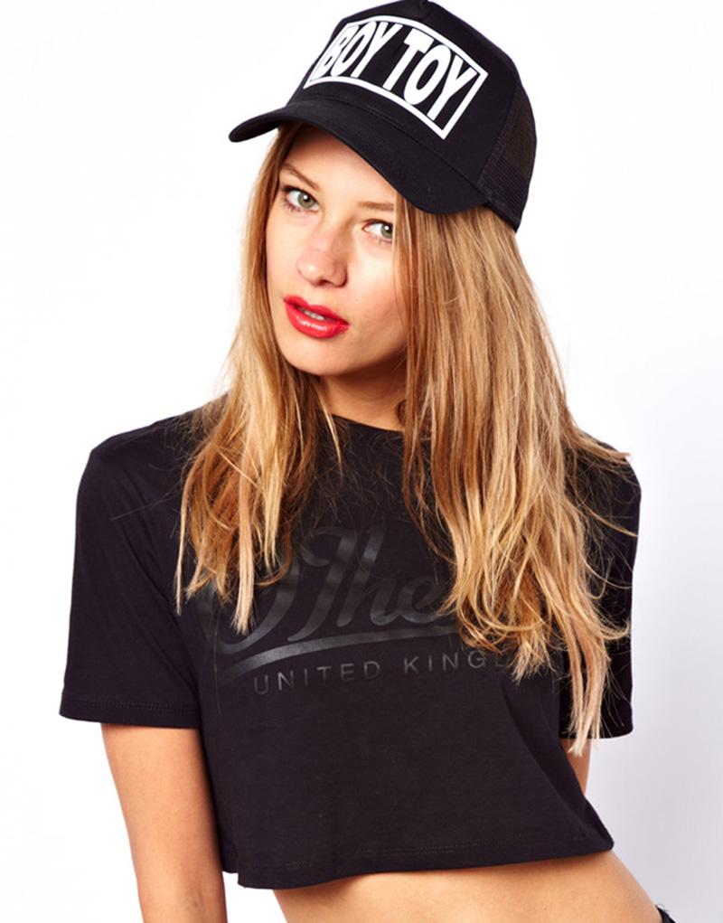 sick girl boy toy cap black ASOS