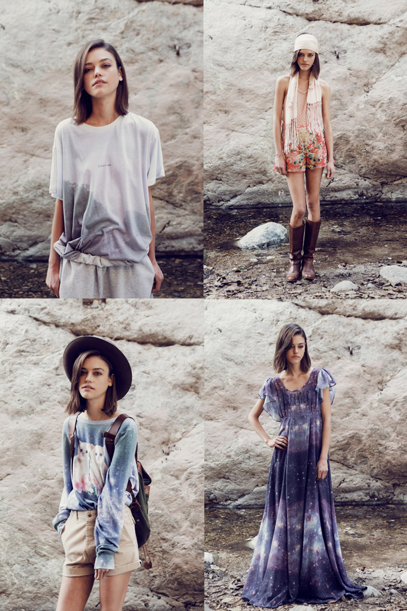 wildfox into the wild lookbook pre fall 2013 2
