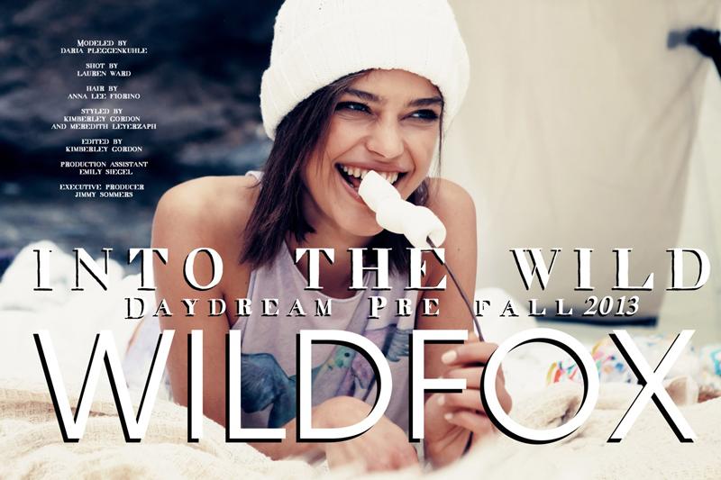 wildfox into the wild lookbook pre fall 2013 3