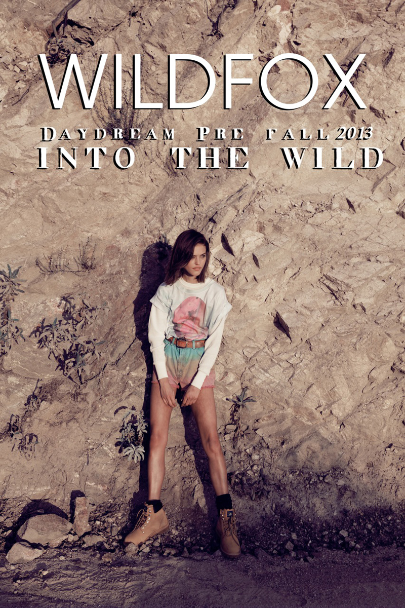 wildfox into the wild lookbook pre fall 2013