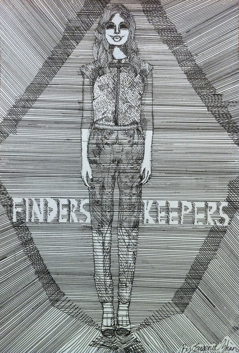 finders keepers blogger illustration a beautiful ordinary