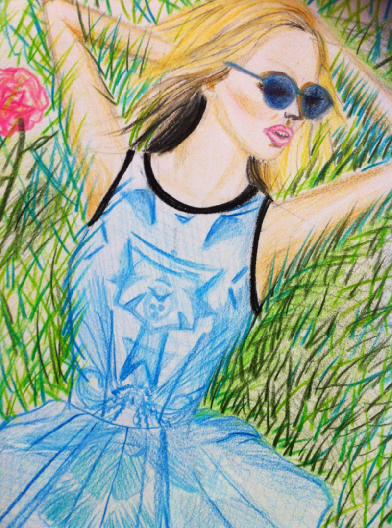 finders keepers field of dreams blogger eugenie illustration