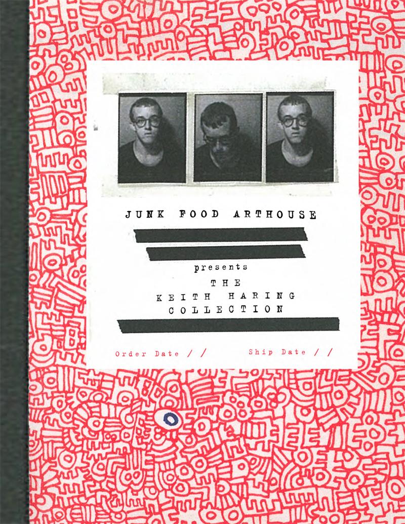 HARING BOOK-1 junk food